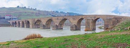 Panorama av bron arkivfoton
