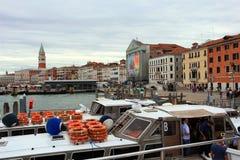 Panorama av centrala Venedig Royaltyfri Fotografi