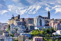 Panorama av Chieti Arkivfoto