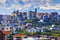 Panorama av Chieti Royaltyfri Fotografi