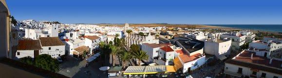 Panorama av conilde-la frontera Arkivfoto