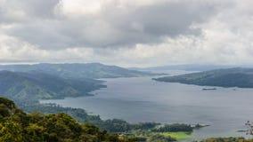 Panorama av Costa Rica Royaltyfria Bilder