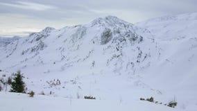 Panorama av den Feuerkogel bergplatån, Ebensee, Österrike stock video