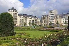 Panorama av den Luxembourg staden Arkivfoto