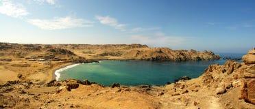 Panorama av den Puerto incaen fotografering för bildbyråer