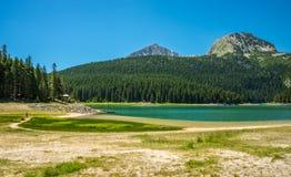 Panorama av den svarta sjön Arkivbilder