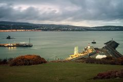 Panorama av Douglas royaltyfri fotografi