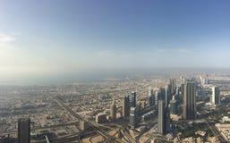 Panorama av Dubai Arkivbild