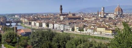 Panorama av Florence, Italien royaltyfri bild