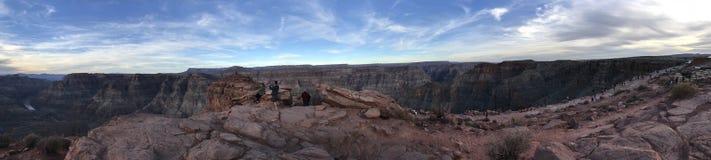 Panorama av grandet Canyon arkivbilder