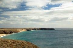 Panorama av kustlinjen Royaltyfri Foto