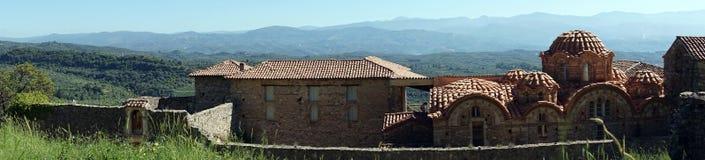 Panorama av kyrkan fotografering för bildbyråer