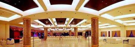 Panorama av mottagandet Hall Royaltyfri Fotografi