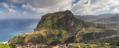 Panorama av Penha de Aguia Royaltyfri Foto