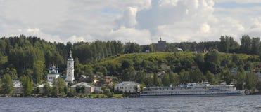 Panorama av Plyos Fotografering för Bildbyråer