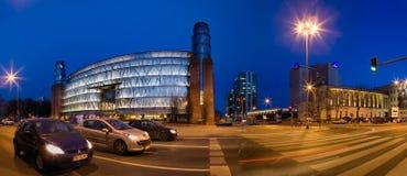 Panorama av Poznan i Polen fotografering för bildbyråer