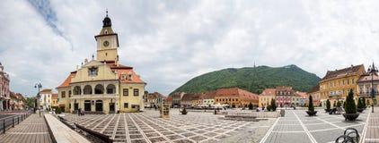 Panorama av rådfyrkanten Fotografering för Bildbyråer