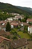 Panorama- av Roncal Royaltyfria Bilder