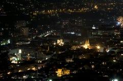Panorama av Sarajevo, Bosnien och Hercegovina Fotografering för Bildbyråer