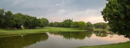 Panorama- av sjön royaltyfri foto