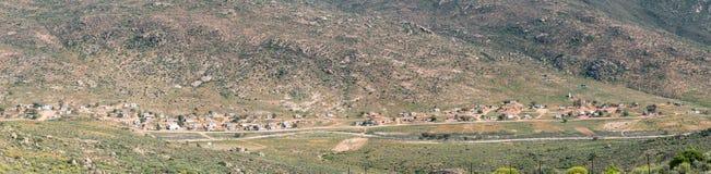 Panorama av Spoegrivier royaltyfri foto