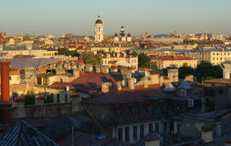 Panorama av St Petersburg. Ryssland Arkivbild