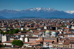 Panorama av Turin, Italien Arkivbilder