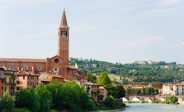 Panorama av Verona Royaltyfria Bilder