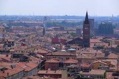 Panorama av Verona Royaltyfri Fotografi