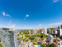 Panorama av Vicente Lopez Royaltyfria Foton