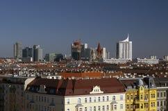 Panorama av Wien Royaltyfri Bild
