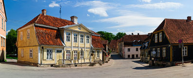 Kuldiga, Lettonie Images stock