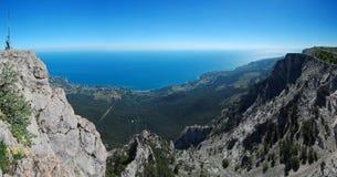 Panorama avec Oh-Pétri crimea Photo stock