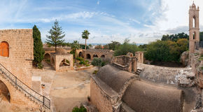Panorama of the Ayia Napa Monastery Royalty Free Stock Photography