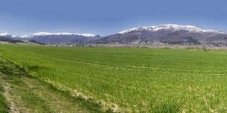 Panorama búlgaro das montanhas Imagens de Stock Royalty Free