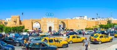 Panorama of Bab Diwan Gates Royalty Free Stock Photo