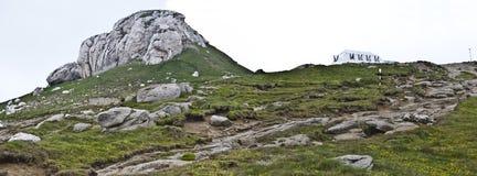 Panorama background in Carpathians. Stock Photos