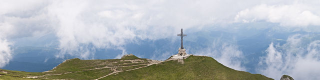 Panorama background in Carpathians. Stock Photography