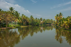 Backwaters of Kerala, India Stock Images