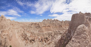 Panorama of badlands national park Royalty Free Stock Photos