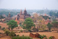 Panorama Bagan Royalty Free Stock Photography