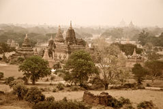 Panorama Bagan Photos libres de droits
