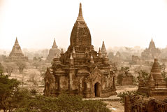 Panorama Bagan Lizenzfreie Stockfotografie