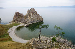 Panorama of Baikal Stock Images