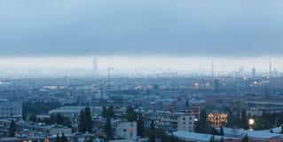 Panorama Baku Fotografering för Bildbyråer