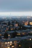 Panorama Baku Royaltyfri Foto