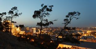 Panorama Baku Arkivfoton