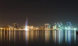 Panorama Baku Royaltyfria Foton