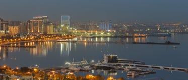 Panorama Baku imagens de stock