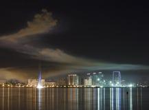 Panorama Baku Arkivbild